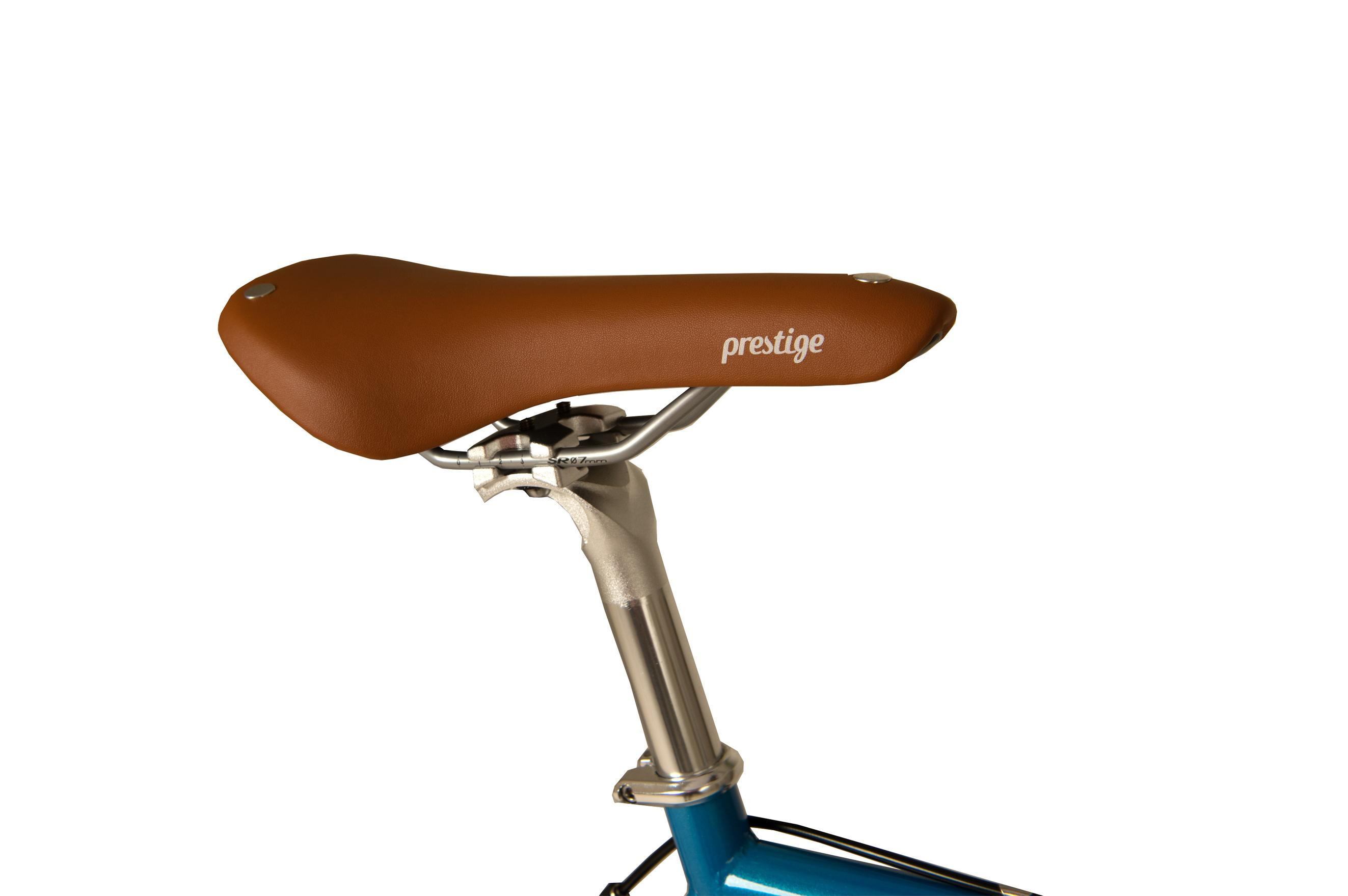 Seat on the Raleigh Propaganda bike