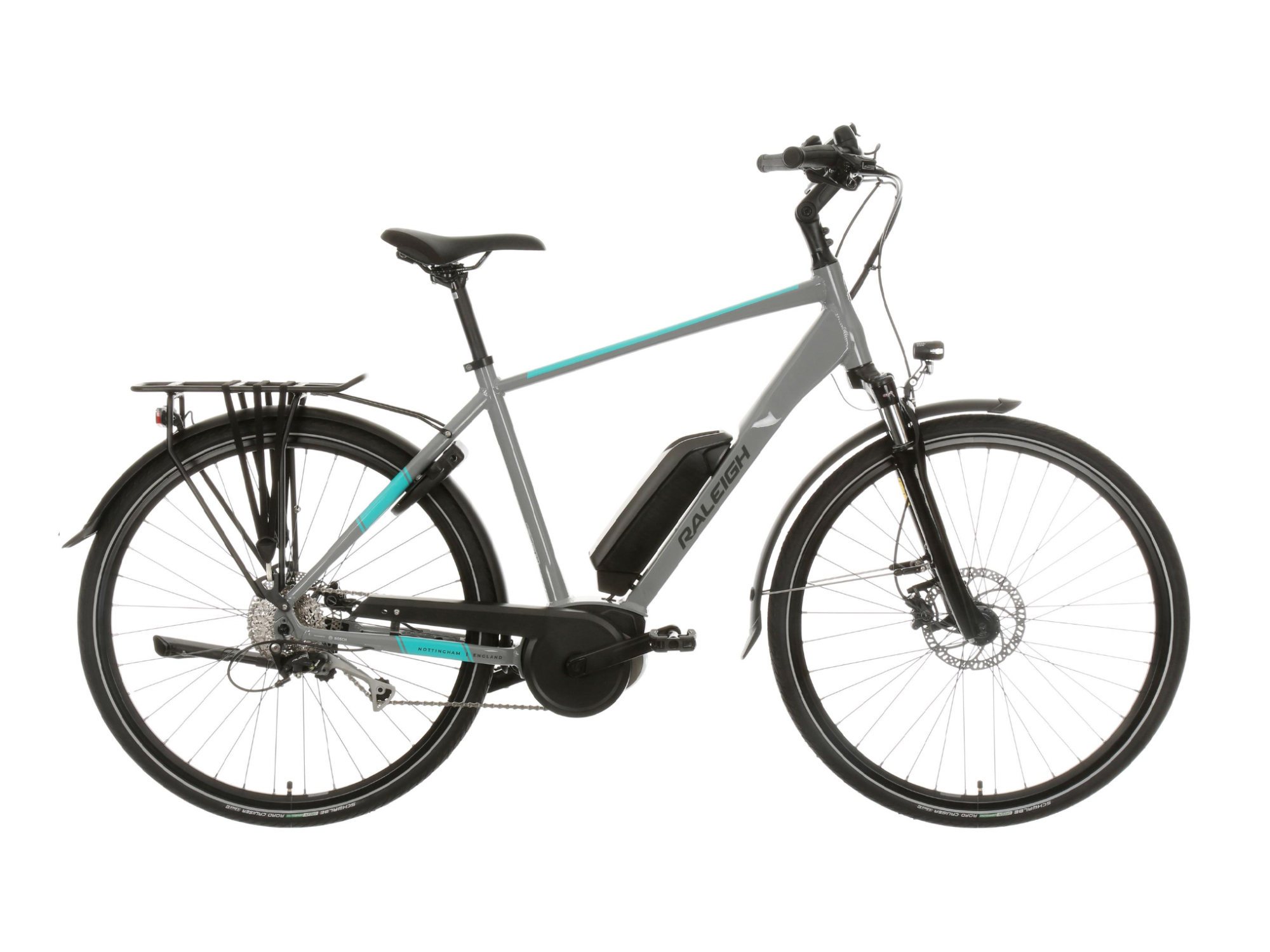 Raleigh Felix Plus electric bike with crossbar frame