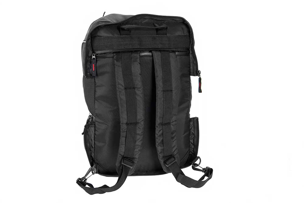 Triple pannier bike hucksack bag