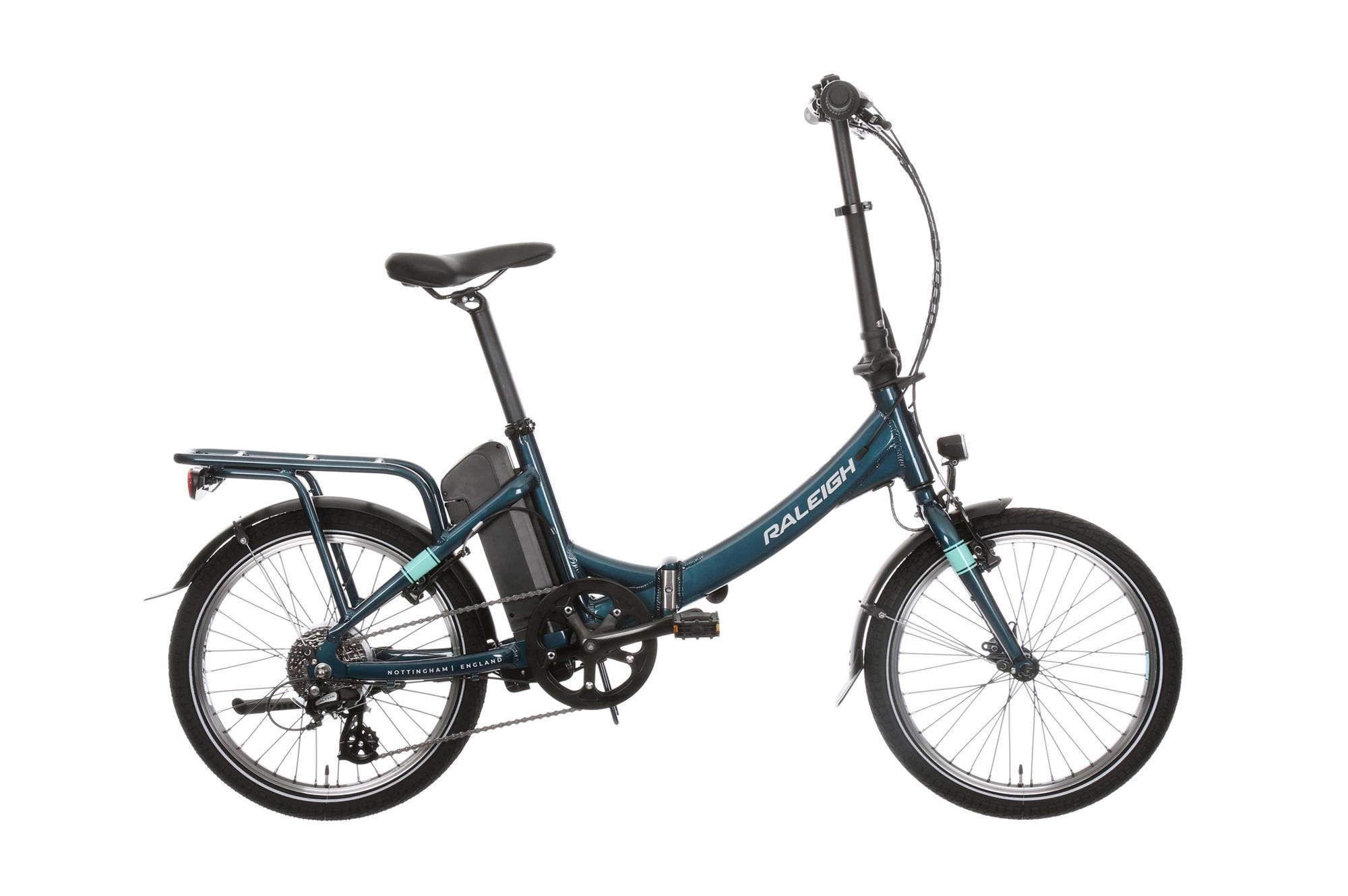 Raleigh Evo folding electric bike