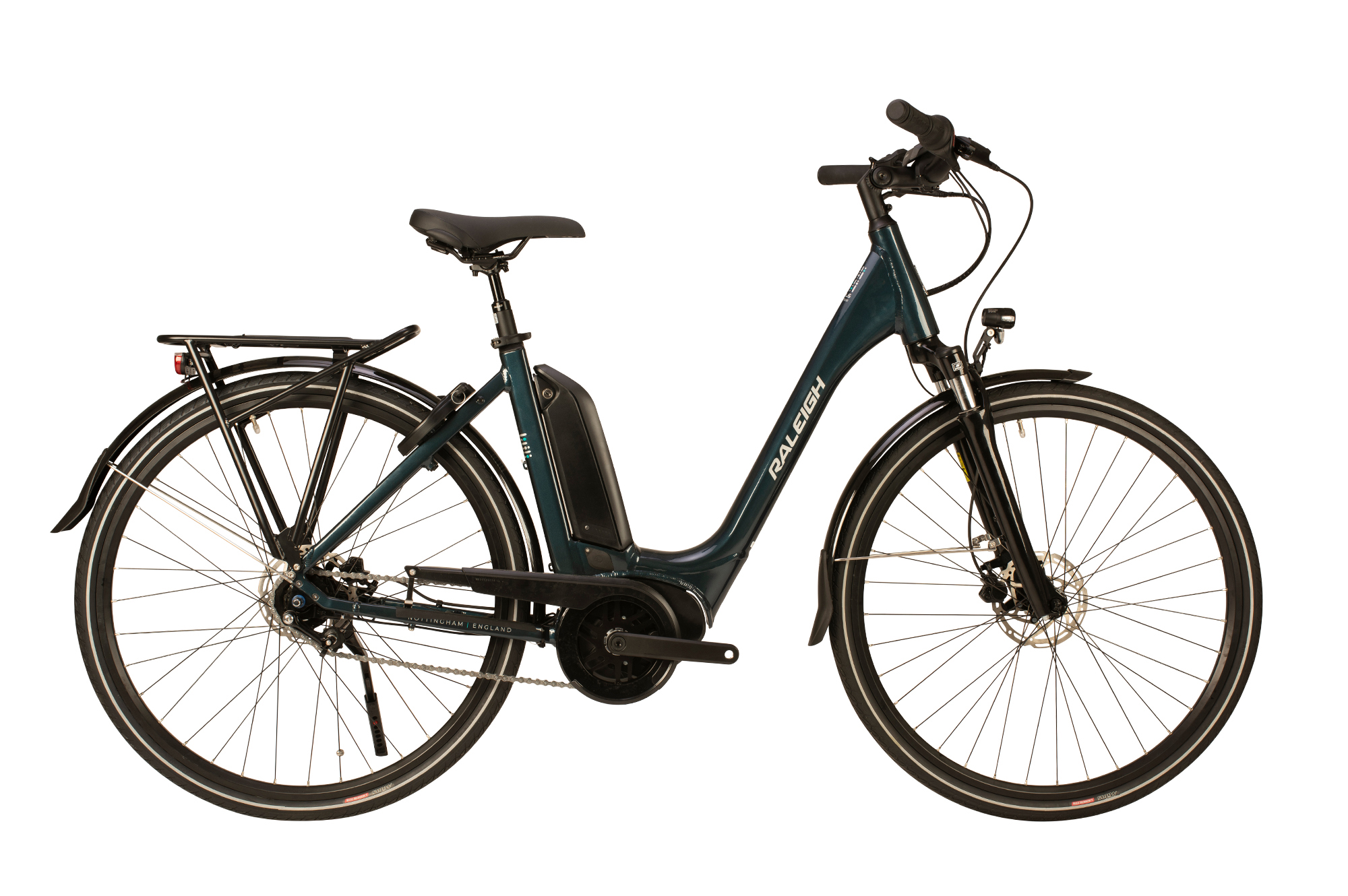 Raleigh Motus Grand Tour low step electric bike