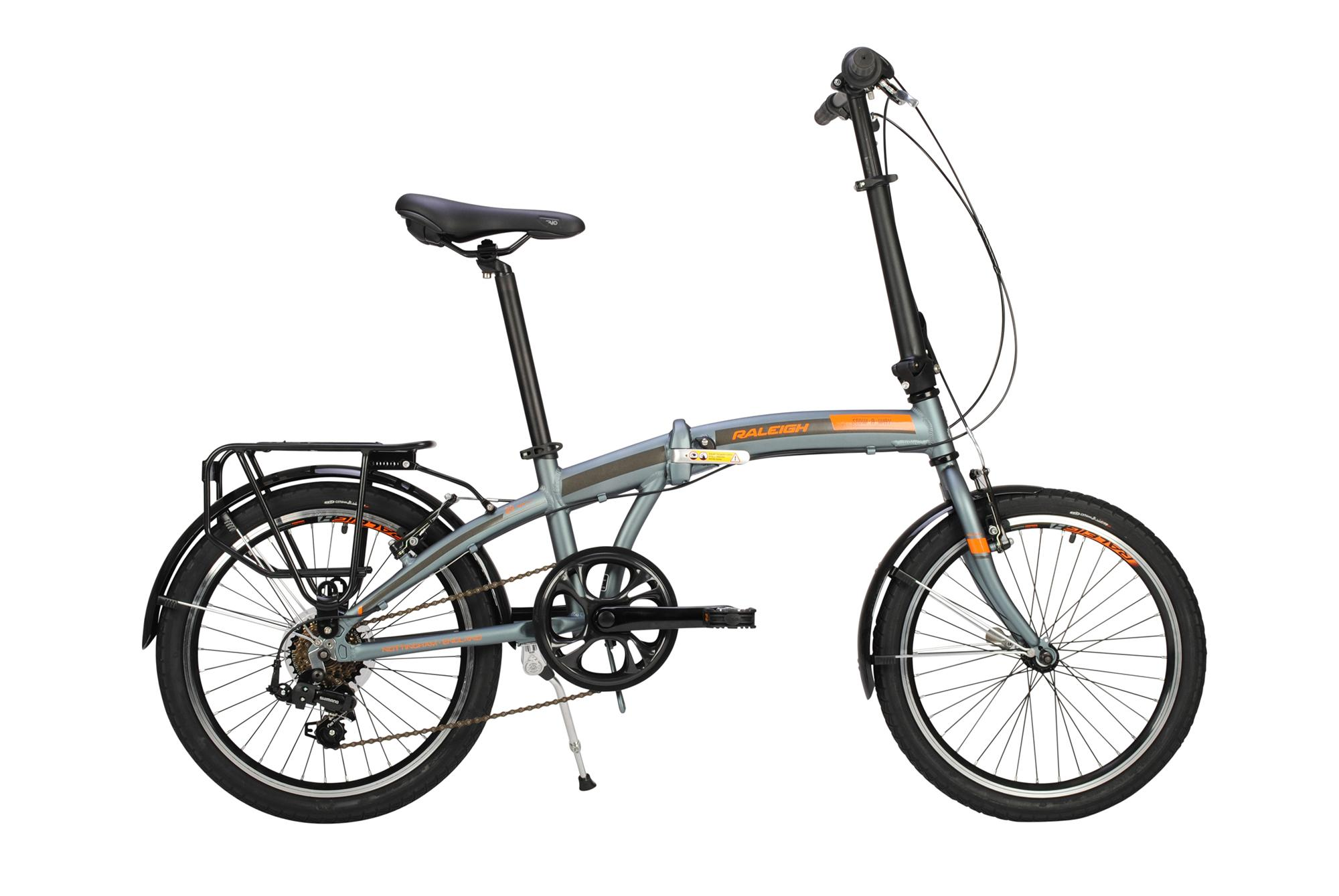 Raleigh Stowaway folding bike