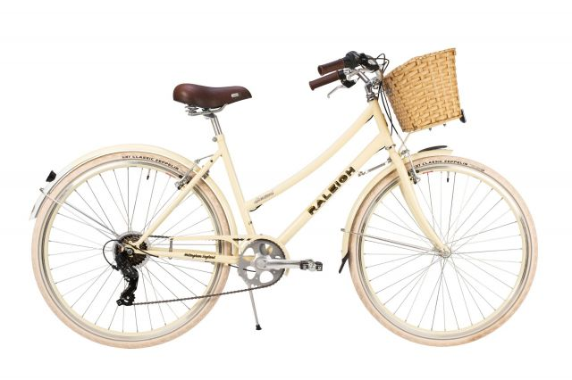 Raleigh Sherwood classic ladies bike  with basket
