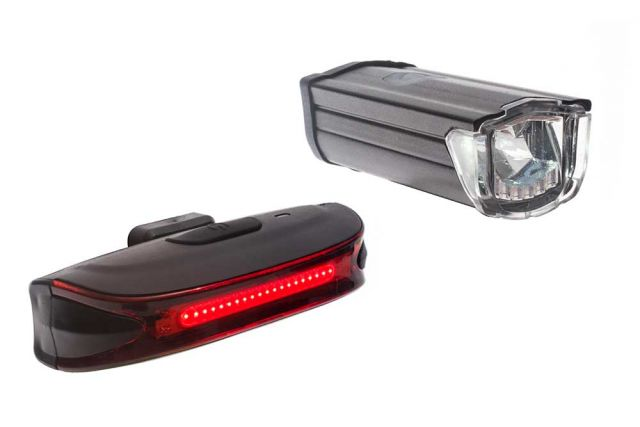 Raleigh RX 10 LED USB Bike Light Set