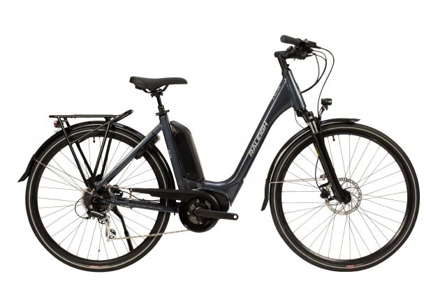 Raleigh Motus Tour electric bike with low step frame