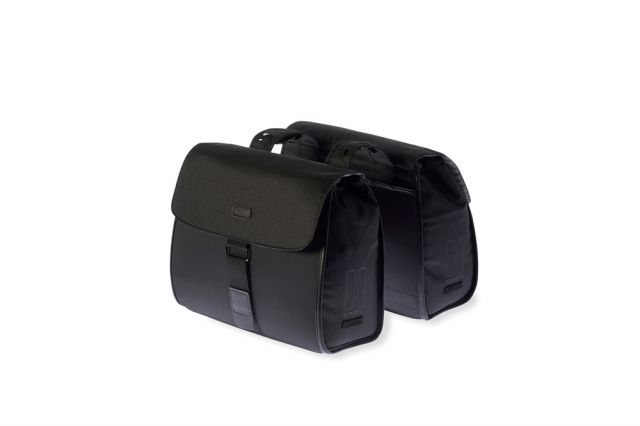 Basil Noir Double Business Cycling Bag