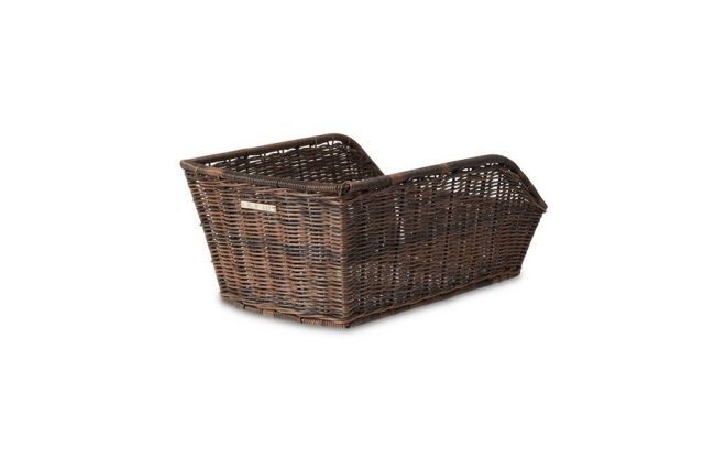 Cento Rattan-Style Basket - Brown