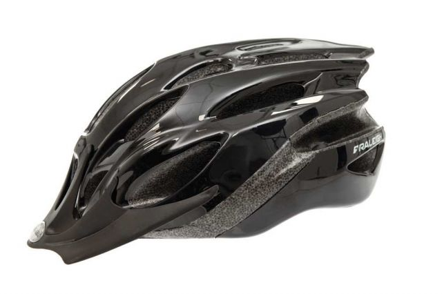 Raleigh Mission Evo bike helmet in black