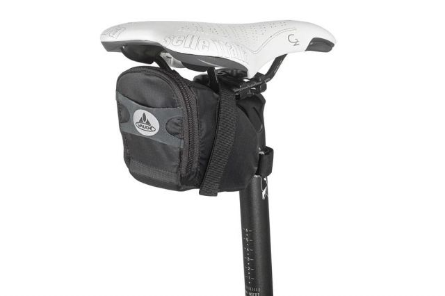 Large race light bike saddle bag