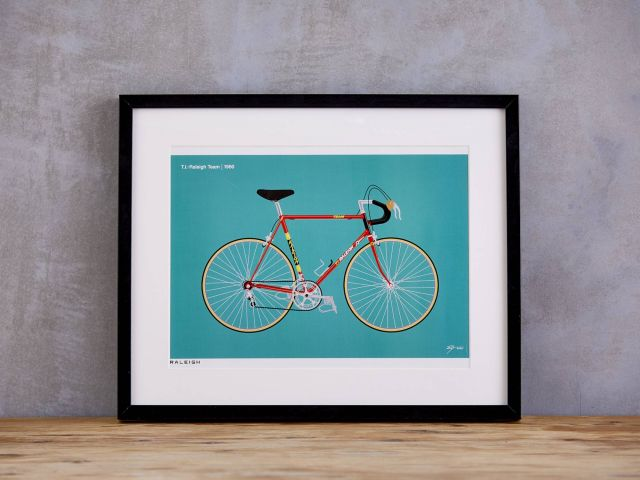 1980 TI-Raleigh Art Print
