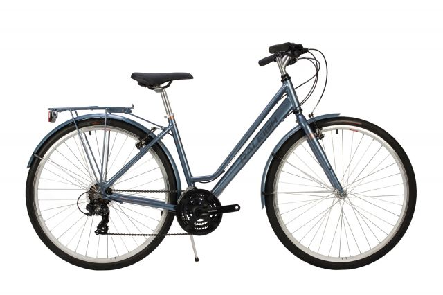 Raleigh Pioneer low step bike in grey