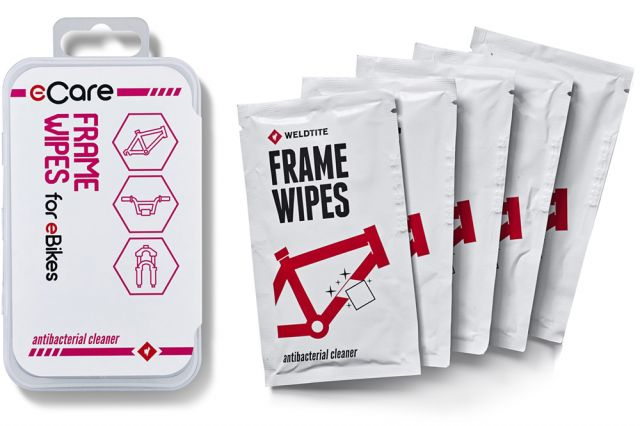 Weldtite E-Care Antibacterial Frame Wipes