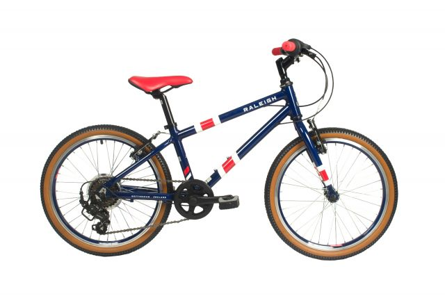 Raleigh Pop 20 inch kids bike in blue colour