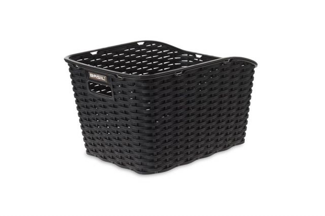 Weave Bike Basket Black